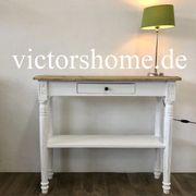 Weisse Konsole Wandtisch Tischplatte old