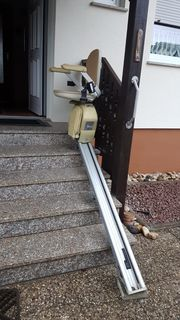 Treppenlift - ACORN gebraucht voll funktionsfähig