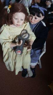 Künstler Puppen Jenna undCourtney von