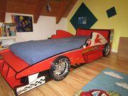 Rennauto-Bett Speedy rot 90x200 cm