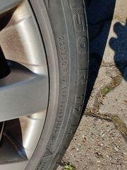 4x 17 Alufelgen mit Allwetter-Reifen