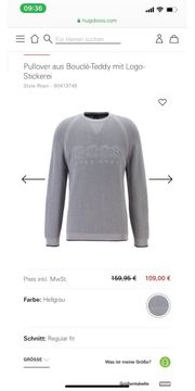 Hugo Boss Pullover Xl neu
