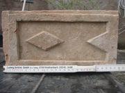 Alte Ziegelsteine weichgebrannt mit Muster