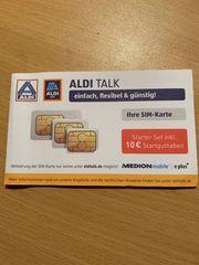 ALDI Talk Prepaid SIM Karte