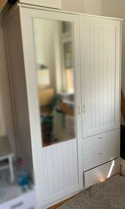 Ikea Kleiderschrank Musken weiß mit