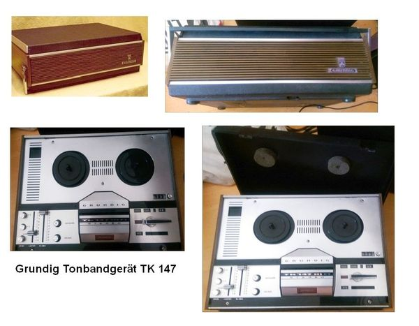 ACHTUNG SAMMLER: Grundig Tonbandgerät TK 147 zu verkaufen