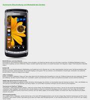 Samsung Handy I8910 HD