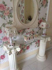 Home Spiegel Wandspiegel mit Säule