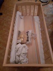 Babybett WALDIN mit Matratze