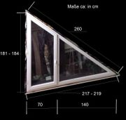 Fenster Holz Alu Isolierglas getönt