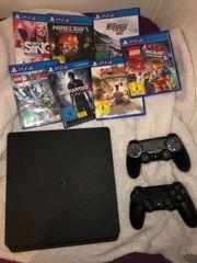 PlayStation 4 Slim mit 7
