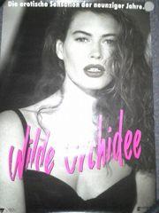 Orginal Plakat 1989 Wilde Orchidee
