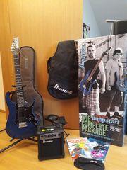 E-Gitarre Set Ibanez Jumpstart IJRG200-BL