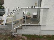 Treppengeländer Handlauf 3 Stufen Außengeländer