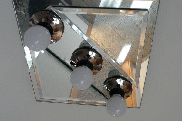 Spiegel Lampen rechteckig quadratisch hochwertige