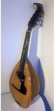 Rare Mandoline Ancienne Emanuele Egildo