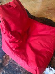 Sitzsack rot