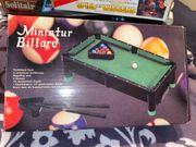 Miniatur Billard