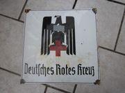 Altes Emailleschild Deutsches Rotes Kreuz
