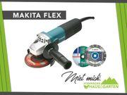 Mieten Leihen Flex Winkelschleifer Makita