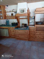 Küchenzeile Altholz