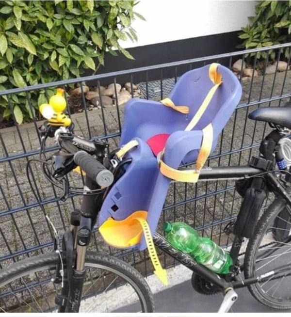 Fahrradsitz für vorne Lenker