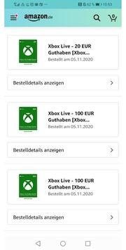 730 Xbox Guthaben Fehlkauf