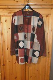 Lederjacke Patchworkjacke Jacke kultige 80