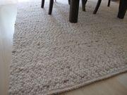 Neuer Handwebteppich 100 Schurwolle 170