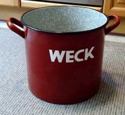 Einmach-Kochtopf von WECK aus Haushaltsauflösung