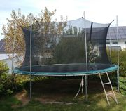 Trampolin Hudora ca 400cm mit