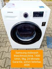 Samsung Addwash Waschmaschine 1400Umin 9kg
