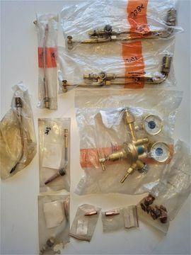 Werkzeuge, Zubehör - Schweissaufsätze Druckminderer Messer Griessheim verschied