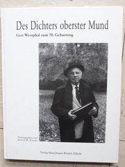 Des Dichters oberster Mund - Gert