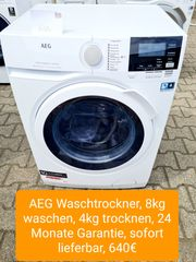AEG Waschtrockner 8kg waschen 4kg