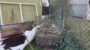 2 runde hochwertige Kompostgestelle