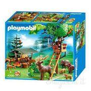 Hochsitz mit Wildfütterung -PLAYMOBIL 4208 -