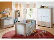 Babyzimmer Kinderzimmer Sonoma Eiche Bett