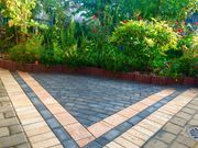 Pflaster-arbeiten- Terrasse- Gartenarbeit- Zaun- Bagger-arbeiten