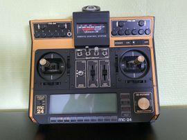 RC-Modelle, Modellbau - Graupner JR MC 24 Gold