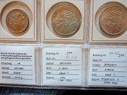 3 Silbermünzen 1911 1909 1908