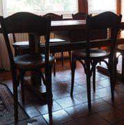 6 Bugholz-Stühle von Horgen Glarus