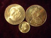 Österreich Gold 10 Kronen 4-fach