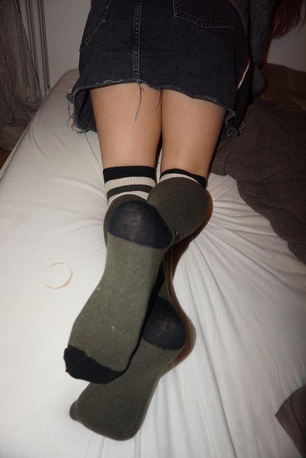 Geiles Fußmodell verkauft stinkende intensive