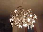 Deckenleuchte Essleuchte Designerleuchte Edelstahl Leuchter