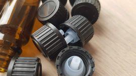 Bild 4 - 10ml Tropfenflaschen Tropfenverschluss Braunglas Tropffläschchen - Erdweg Unterweikertshofen