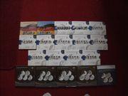 Gedenkmünzensätze von 2002-2020 In Polierte