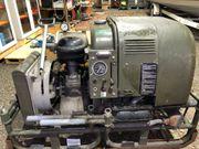 Druckluftkompressor auf Anhänger