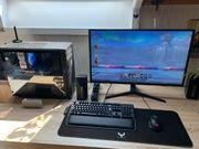 Gaming PC mit UHD Monitor