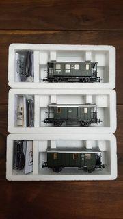 Roco 44812 44813 44814 Postwagen